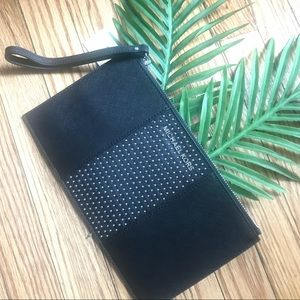 Michael Kors   Micro Stud   Leather Clutch